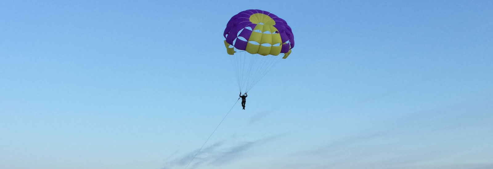 Parascending in Cornwall